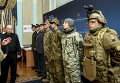 Петр Порошенко на презентации новой формы для ВСУ