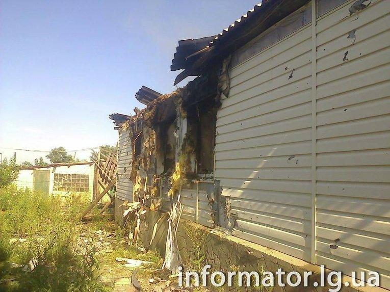 Обстрелы Станицы Луганской