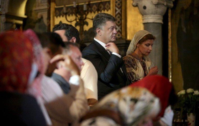 Участие президента Петра Порошенко в мероприятиях по случаю Дня крещения Киевской Руси-Украины