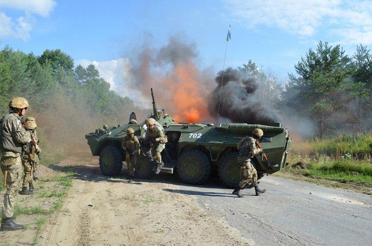 Международные военные учения Репид Трайдент - 2015