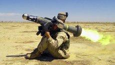 Американский переносной противотанковый ракетный комплекс третьего поколения Javelin