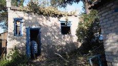 Разрушения после артобстрела Авдеевки. Архивное фото