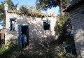Разрушения после артобстрела Авдеевки