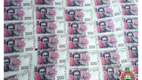Фальшивые купюры 200 гривен