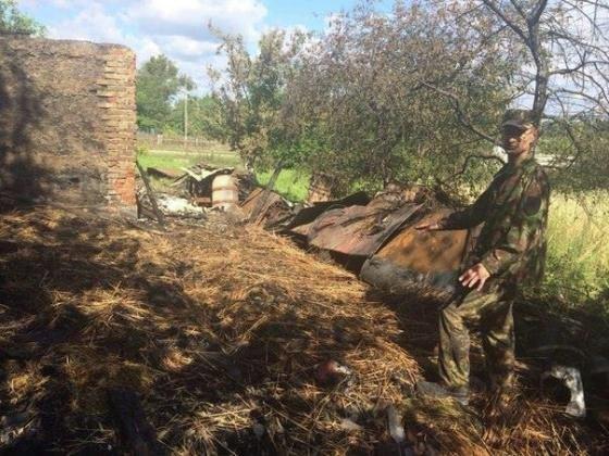 В Ровенской области подожгли дом руководителя районной ячейки Правого сектора