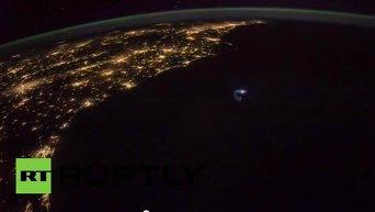 NASA опубликовало видеосъемку грозы с борта МКС