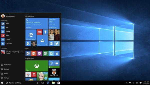 Microsoft начала продажи новой ОС Windows 10