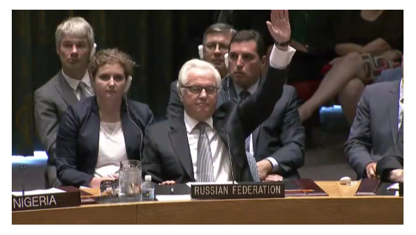 Постпред РФ в ООН Виталий Чуркин. Архивное фото