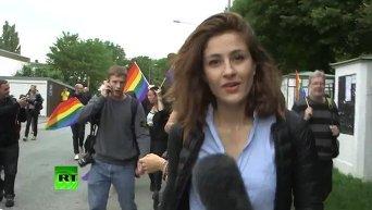 В Швеции правая партия провела гей-парад в мусульманском районе