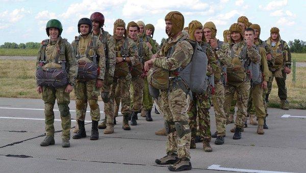 Воздушно-десантная подготовка спецназа ВСУ под Винницей