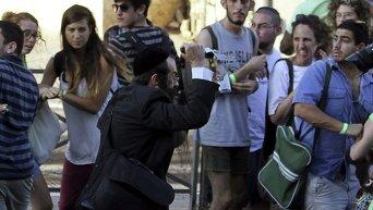 Нападение на гей-парад в Израиле