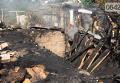 Последствия обстрела Тошковки Луганской области
