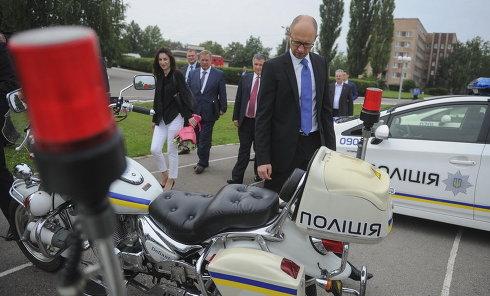 В пятницу Арсений Яценюк посетил Харьков