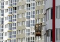 Покраска стен нового дома в Киеве. Архивное фото