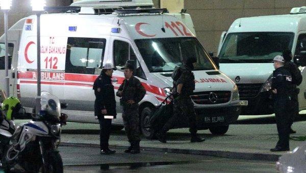 Полиция и скорая в Турции. Архивное фото