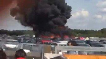 Видео авиакатастрофы с самолетом семьи бен Ладена