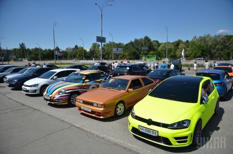 День фанов Volkswagen в Киеве