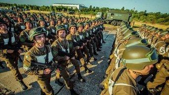 Нацгвардия готовится к военному параду в честь Дня Независимости Украины