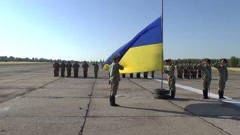 Национальная гвардия Украины готовится к параду на День Независимости.Видео