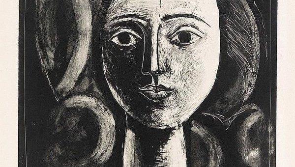 Голова молодой женщины Пабло Пикассо
