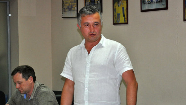 Александр Савицкий, главный тренер Национальной сборной Украины по хоккею