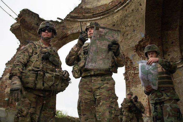 Военные учения Saber Guardian/Rapid Trident