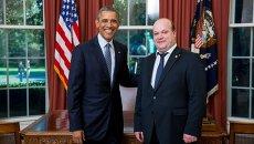 Барак Обама и Валерий Чалый
