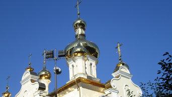 Купола храма. Архивное фото