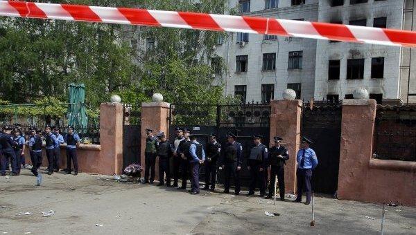 Дом профсоюзов в Одессе. Архивное фото