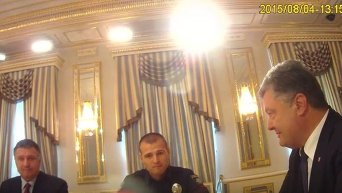 Подписание закона О Национальной полиции. Видео