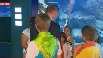 Мальчик спросил Путина: Что там на Украине?