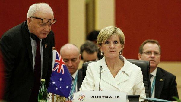 Глава МИД Австралии Джулия Бишоп. Архивное фото
