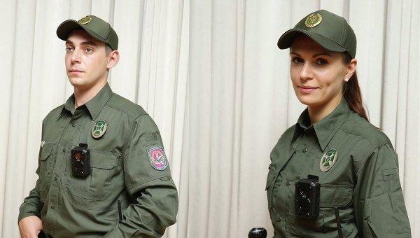 Новая форма украинских пограничников