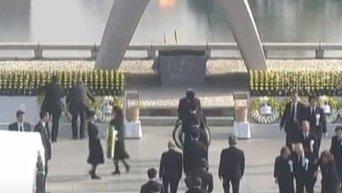 Минута молчания в память о жертвах бомбардировки Хиросимы