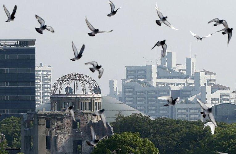 Мероприятия в память о жертвах атомной бомбардировки в Хиросиме