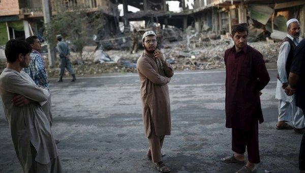 Ситуация в Кабуле. Архивное фото