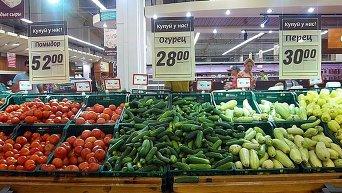 Продуктовый магазин в Донбассе
