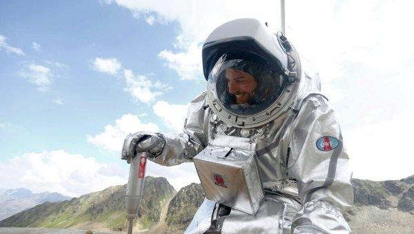 Тренировка будущих покорителей Марса