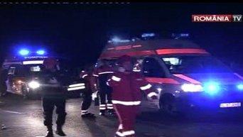 Авария с автобусом в Румынии