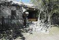 Последствия обстрела села Гранитное
