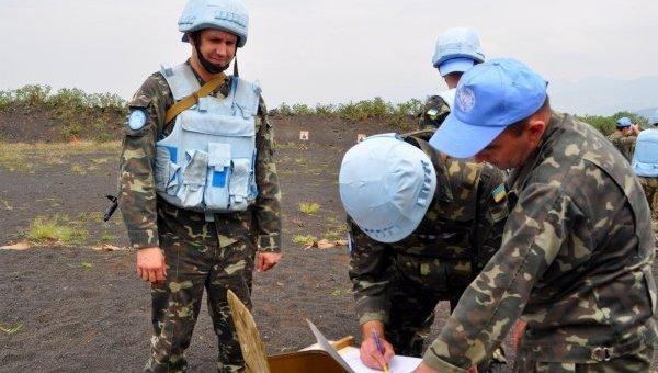 Украинские миротворцы миссии ООН в Африке. Архивное фото
