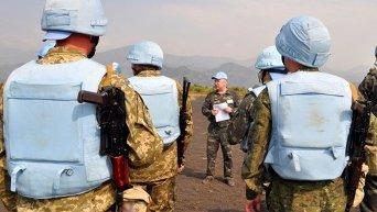 Миротворцы миссии ООН. Архивное фото