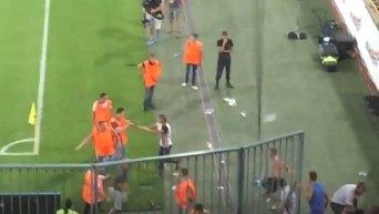 Беспорядки на матче Днепр - Динамо