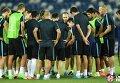 Игроки Барселоны тренируются в Тбилиси, где 11 августа пройдет матч за Суперкубок УЕФА