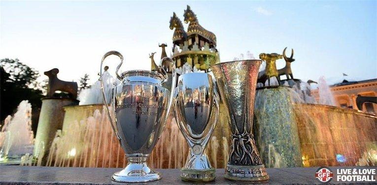 Кубок Лиги Чемпионов, Суперкубок УЕФА и Кубок Лиги Европы в Тбилиси