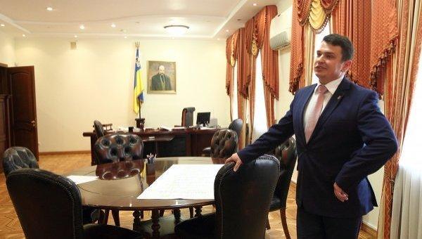 Сытник показал офис антикоррупционного бюро