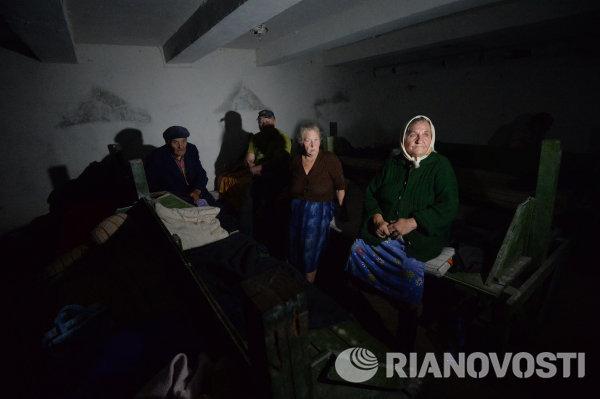Жизнь в подвале. Иловайск в августе 2014 года