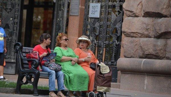 Жители Киева. Архивное фото