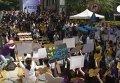 Антияпонская манифестация в Сеуле