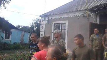 Айдар захватил сельсовет в Полтавской области